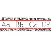 Teaching Tree Manuscript Alphabet Bulletin Back to School Board Set Creative Strips School Office Resources Scholastic Teacher Teacher's Bulletin Trim Wall Border Decal Classroom Decoration Set G
