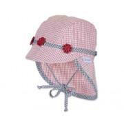 SOMMER Baby Mädchen Hut mit Nackenschutz Mütze STERNTALER 1401420 -K56-