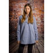 Camasa femei casual Fiona blue