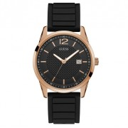 Ceas GUESS - Perry W0991G7 BLACK/ROSE GOLD TONE