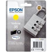 """""""Tinteiro Epson 35 Amarelo Original Série Cadeado (C13T35844010)"""""""