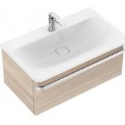 Mobilier Ideal Standard pentru lavoar 80cm gama Tonic II, lemn maro deschis
