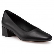 Ниски обувки CLARKS - Sheer35 Court2 261547094 Black Leather