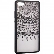 Husa Capac Spate Lace Design 1 Negru APPLE iPhone 6, iPhone 6S STAR