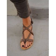 Bohemia Ankle Strappy Flats