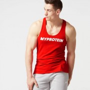 Myprotein Logo Stringer Tanktop - XL - Rood