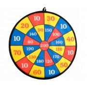 Set Joc Darts cu Tinta Velcro cu Scai, 2 Sageti si 2 Mingi pentru Copii