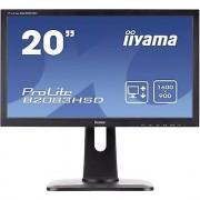 IIYAMA B2083HSD LED 49.5 cm (19.5 ) 1600 x 900 pix WSXGA 5 ms VGA, ...