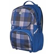 Rucsac Be.Bag Cube carouri negru/albastru/gri Herlitz