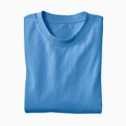 Ecologisch T-Shirt voor HEM & HAAR, jeansblauw