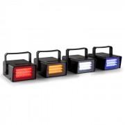 Jogo de 4 Luzes Estroboscópicas Mini LED RGBW