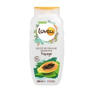 Lovea Gelée de Douche Papaye 400 ml