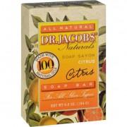 Dr. Jacobs Naturals Bar Soap - Castile - Citrus - 6.5 oz