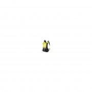 Dynafit Speedfit 28 - zaino scialpinismo - Black/Yellow