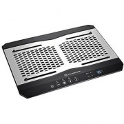 Thermaltake MASSIVE TM Aluminum Panel Dual 120mm Fans Adjustable Temperature Sensor Laptop Notebook Cooling Pad