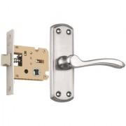 Spider Stainless Baby Latch Keyless Lock Complete Set With SS Finish (KBL + AZ11B) (Bathroom Lock)(Keyless Lock)