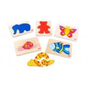 goki Schichten-Puzzle-Set, 5-tlg.
