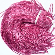 Embroiderymaterial Zardozi Spring Material,Bullion Wire/Nakshi for Jewellery and Embroidery Purpose,1MM, Pink Color(100 Gram)