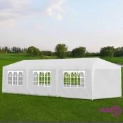 vidaXL Šator za zabave 3 x 9 m bijeli