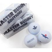 マスターバニー ゴルフウェアメンズ 公認球◆マットホワイトボール1スリーブ