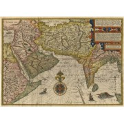 Artifact Puzzles 1596 Asia Minor Map Wooden Jigsaw Puzzle
