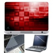 FineArts Laptop Skin Abstract Series 1059 With Screen Guard and Key Protector - Size 15.6 inch