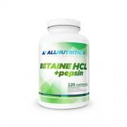 AllNutrition Betaina HCL + pepsina, 120 capsule