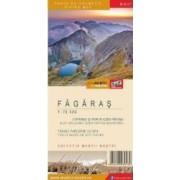Fagaras - Harta de drumetie - Muntii nostri