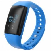 """""""KICCY T1S 0.66"""""""" OLED TPU + ABS Bluetooth v4.0 Deporte Smart Band - Azul"""""""