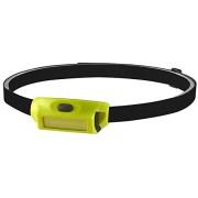 Streamlight 61716 BanditPro 180-Lumen Linterna LED recargable con cinta elástica para la cabeza, correa para el sombrero duro, 3 m de bloqueo doble y cable USB, amarillo Caja empacada