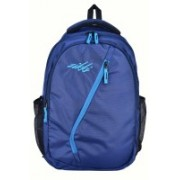 Zikki 27L Casual Backpack for Women and Men school Backpacks bag for Girls Boys kids with laptop compartment (BLUE) 27 L Laptop Backpack(Blue)