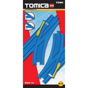 Tomy Tomica Hypercity 85210 Turn Out Rail Train Track Accessory Pack