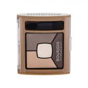 BOURJOIS Paris Smoky Stories Quad Eyeshadow Palette palette di ombretti 3,2 g tonalità 06 Upside Brown
