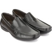 Clarks Finer Sun Black Leather Formal Shoes For Men(Black)