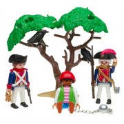 Playmobil 3113 Pirate Soldier And Prisoner