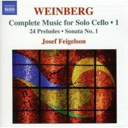 M. S. Weinberg - Complete Music For Solo C (0747313228072) (1 CD)