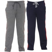 Vimal-Jonney Multicolor Cotton Blended Trackpants For Boys(Pack Of 2)