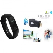 M3 fitness band and Anycast|Smart phones compatiable fitness band|| Heart rate band||Health Watch|| Calories Tracker Band|| Step Count Band||fitness tracker|| bluetooth smart band ||Wrist Watch band|| smart band ||With Alarm System||Best in Quality