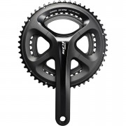 Shimano 105 FC-5800 Semi-Compact Bicycle Chainset - Black - 172.5mm - 52/36 - Black