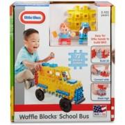 Blocuri De Constructie - Autobuz Scolar Little Tikes