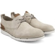 Clarks Capler Plain Sand Suede Casuals For Men(Brown)