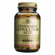 Cinnamon Alpha Lipoic Solgar 60tb