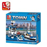 Sluban CITY POLICE-206PCS ( M38-B1200 ) (Lego compatible)