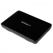 """StarTech.com Box esterno hard disk SATA III SSD da 2.5"""" USB 3.0 con UASP – HDD esterno portatile"""