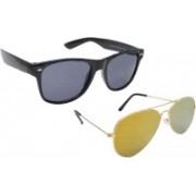 Sellebrity Aviator Sunglasses(Yellow)