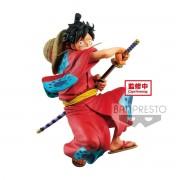Banpresto One Piece King of Artist Monkey D. Luffy Wanokuni 16 cm