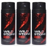 Wild Stone Aqua Fresh Deo Deodrant Body Spray For Men (Set of 3)