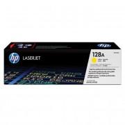 HP CE322A [Y] #No.128 toner (eredeti, új)