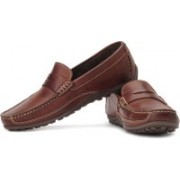 Clarks Royston Court Loafers For Men(Brown)