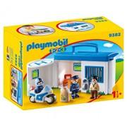 Playmobil 1.2.3, Set statie politie